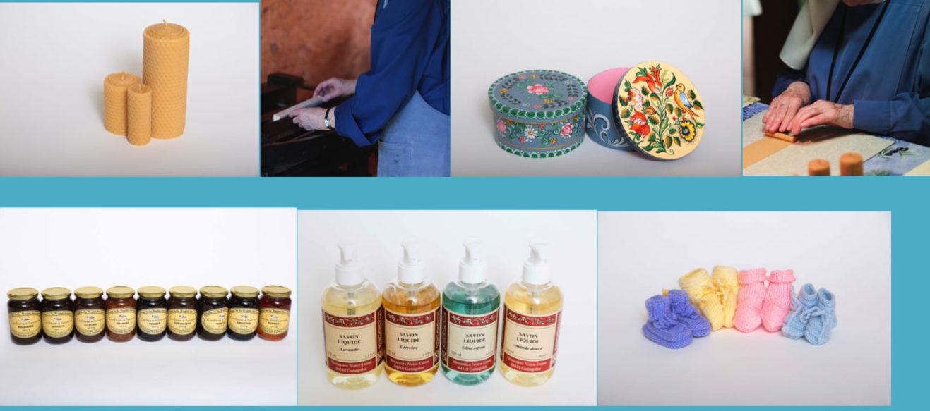 Catalogue produits artisanaux Diaconesses de Reuilly